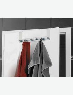 Celano - Türgarderobe aus Edelstahl mit 6 x Haken