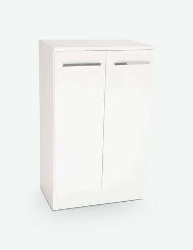 Blanco - Armadio inferiore bianco - laterale