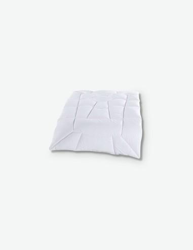 Aloe Vera - Weiße Mikrofaser Decke, ideal für deinen Bett