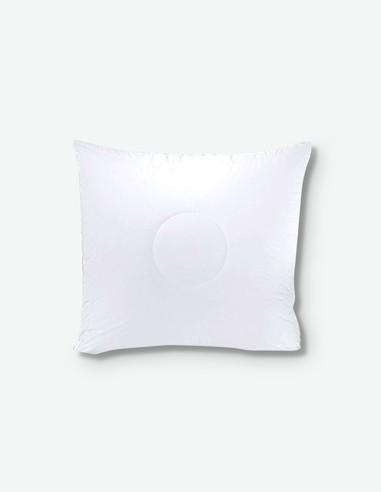 Aloe Vera - Cuscino in microfibra bianco, ideale per la stanza da letto