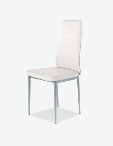 Simone - Sedia da pranzo, disponibile in diversi colori - anteriore