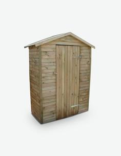 Arpino - Gerätehaus aus imprägniertem Kieferholz