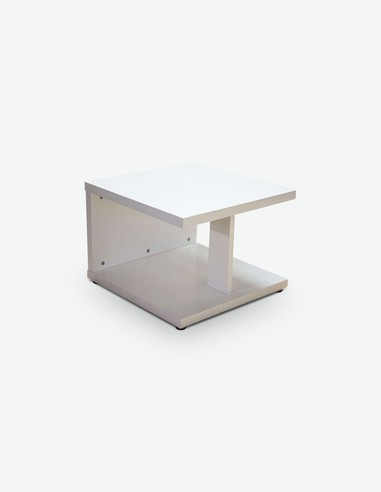 Marco - Tavolino da soggiorno in legno laminato, disponibile in 2 diverse colorazioni