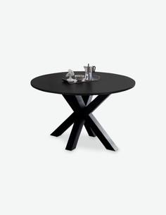 Mystic - Base del tavolo MYSTIC, realizzato in acciaio nel colore antracite
