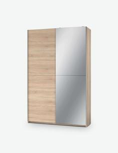 Formia - Schwebetürenschrank aus Holzdekorn. In 2 verschiedenen Farben verfügbar
