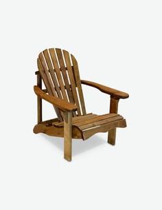 Relax - Einzelsessel aus Massivholz, mit Rücken-/ und Armlehne. Bank bereits imprägniert