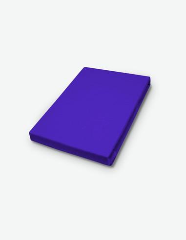 Miranda - Spannbetttuch Jersey - violett