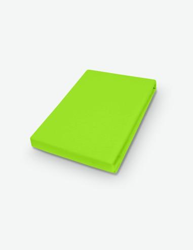 Miranda - Spannbetttuch Jersey - grün