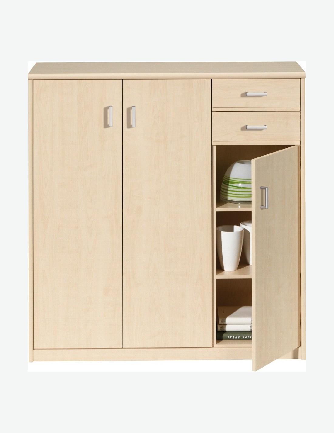 celia kommode mit 3 t ren und 2 schubladen avanti. Black Bedroom Furniture Sets. Home Design Ideas