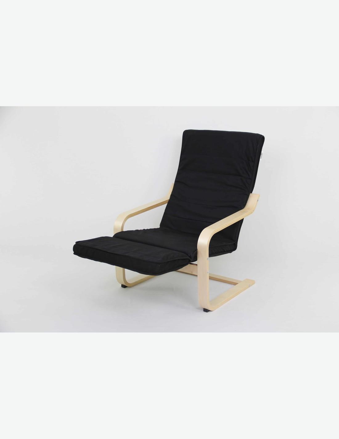 Sedia con poggiapiedi casamia idea di immagine for Sedia a dondolo con poggiapiedi