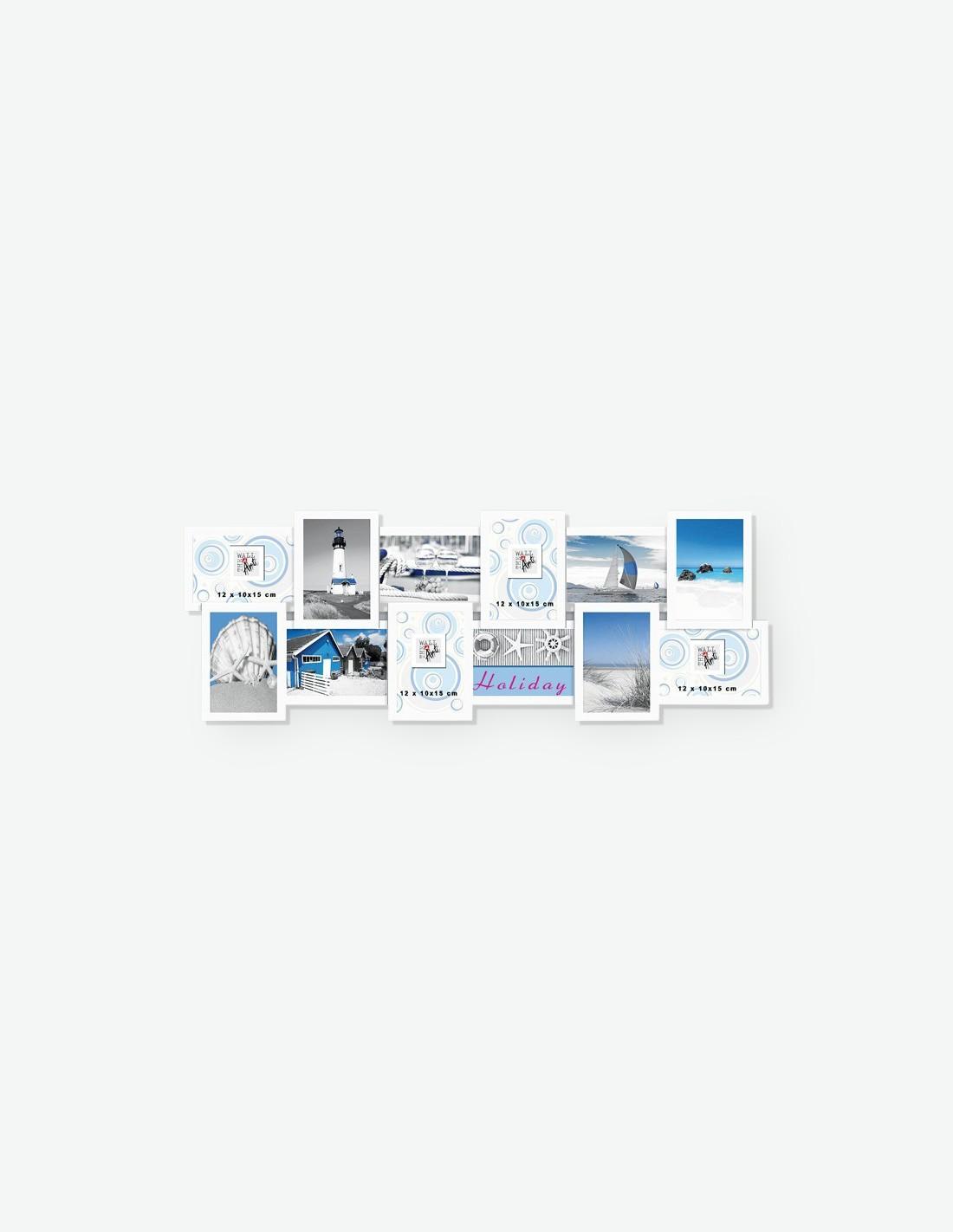 multirahmen f r 12 fotos in 2 verschiedenen farben. Black Bedroom Furniture Sets. Home Design Ideas