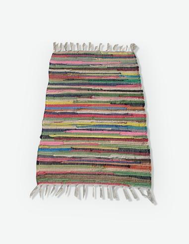 Chindi - Teppich, bunt, in verschiedenen Größen und Materialien