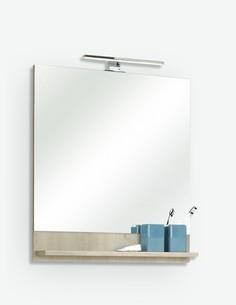 Julian - Spiegel aus Pinie hell Dekor