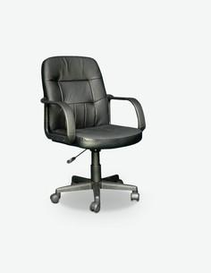 Comodi - Sedia ufficio, in similpelle nera