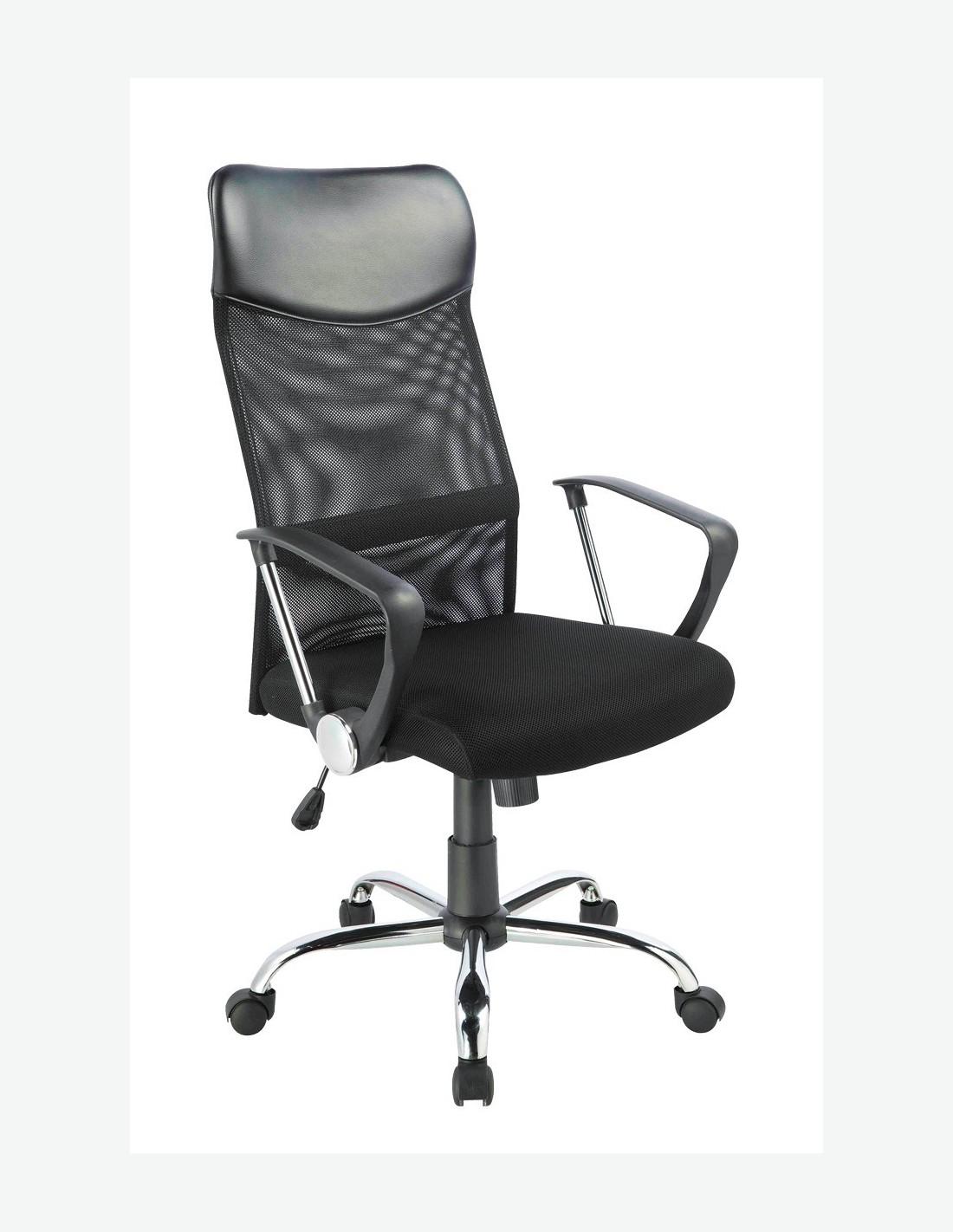 Sedia da ufficio girevole in ecopelle - Rivestire sedia da ufficio ...
