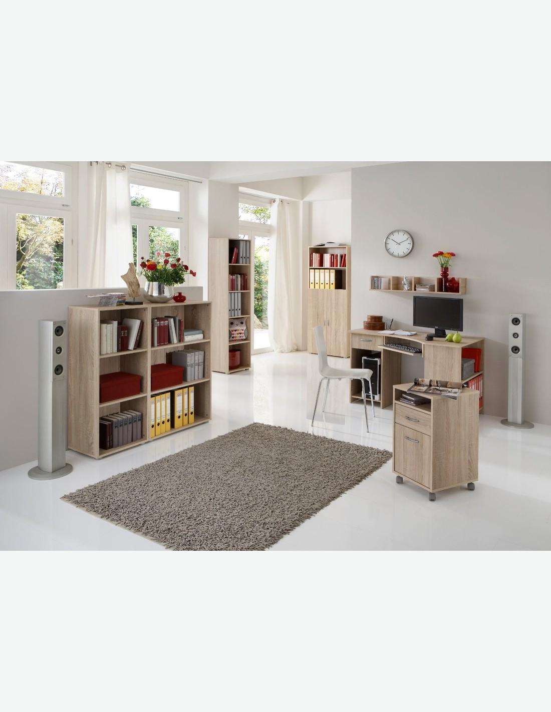 Schreibtisch aus eiche dekor for Dekor eiche