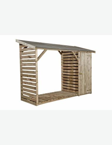 legnaia con ripostiglio