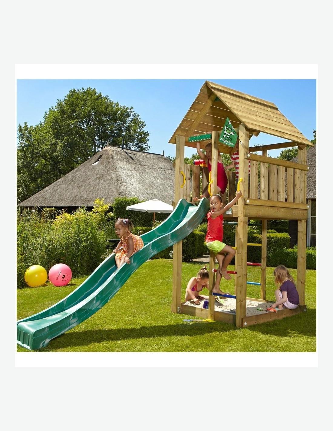Torre in legno per bambini - Tavolini per bambini in legno ...