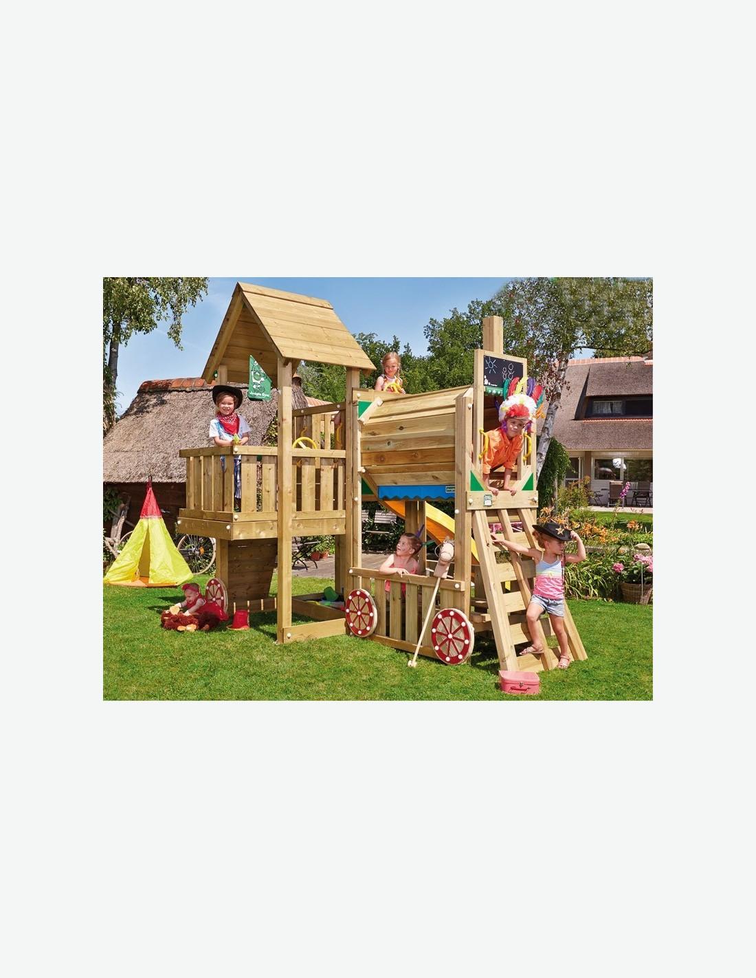 Torre in legno per bambini