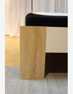 Pinto - französisches Bett komkplett - Matratze und Rollrost inklusive Detail