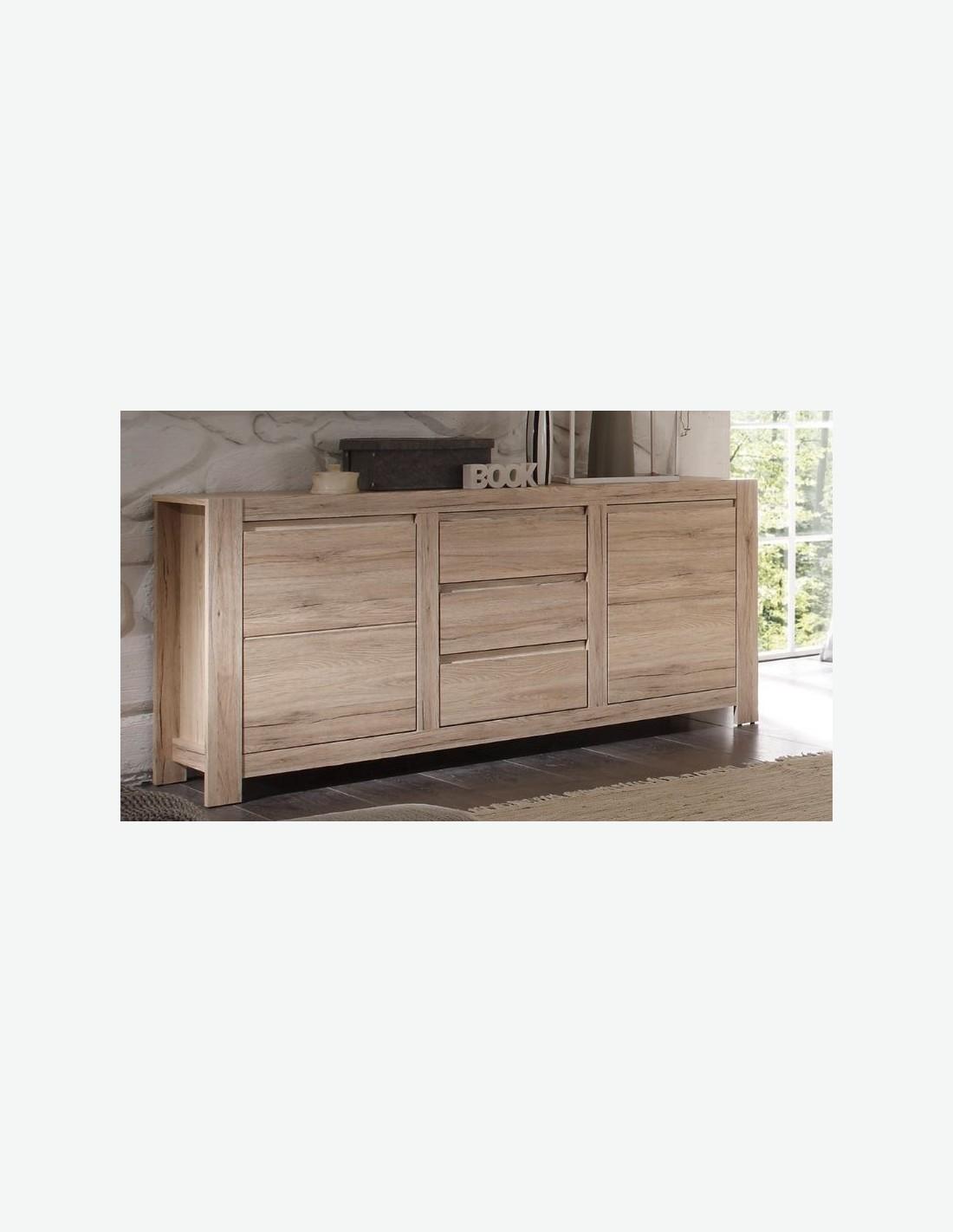 sideboard eiche san remo hell dekor. Black Bedroom Furniture Sets. Home Design Ideas