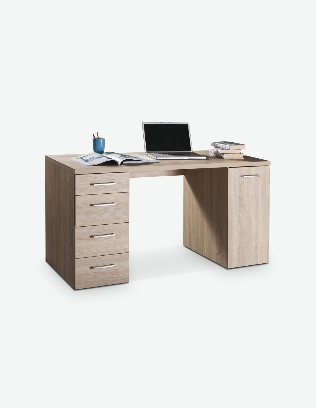schreibtisch aus 2 verschiedenen farben. Black Bedroom Furniture Sets. Home Design Ideas
