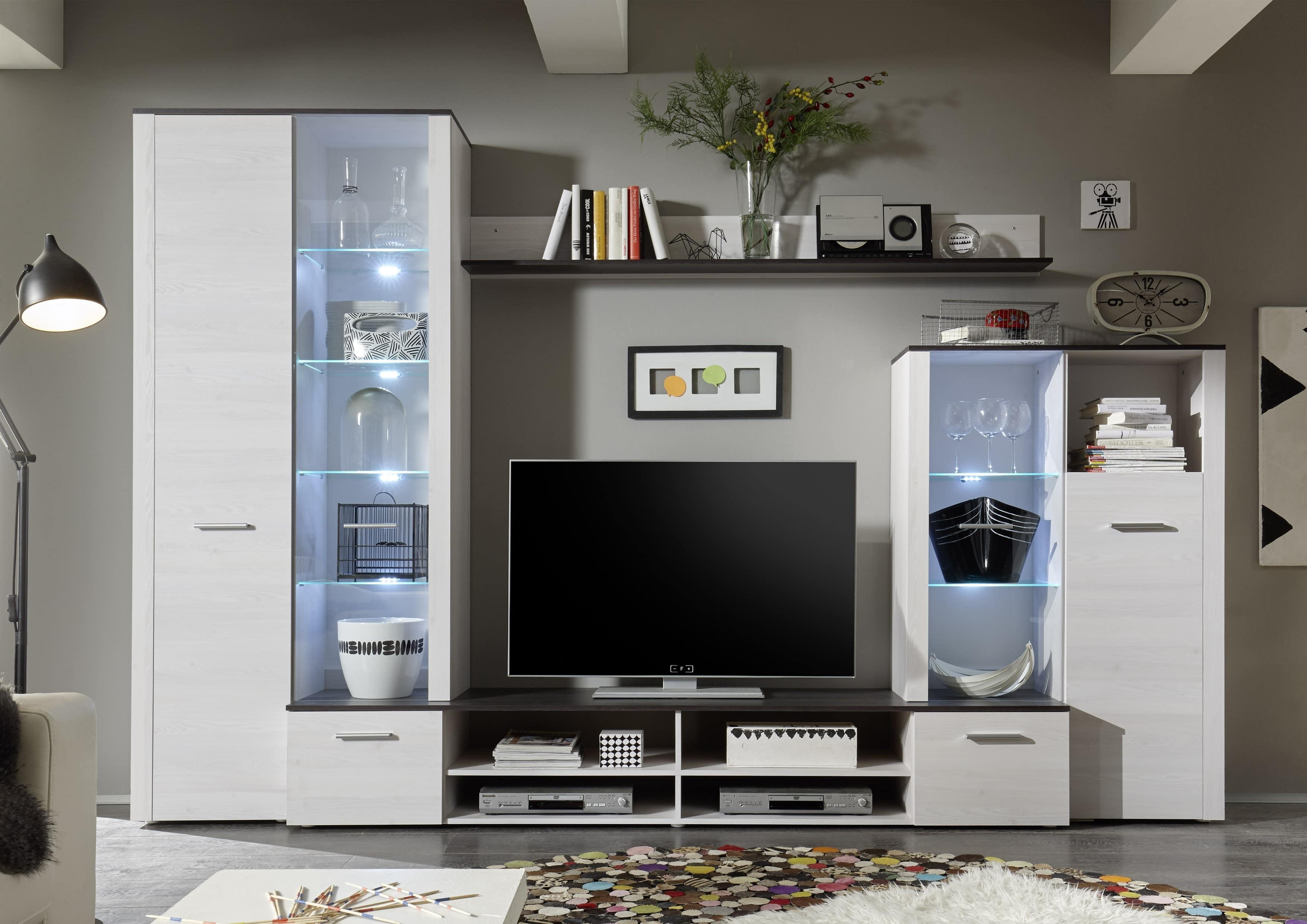 Pareti attrezzate e mobili TV: prezzi e vendita online Avantishop ...