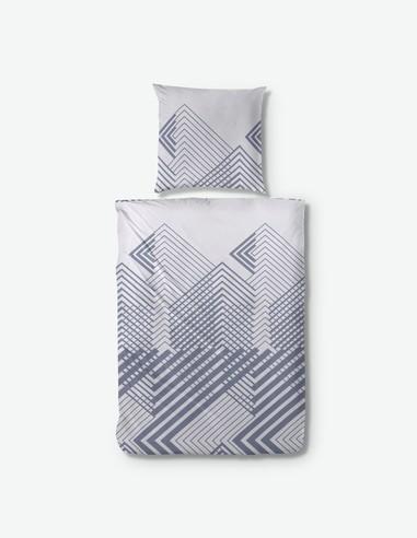 Rita - Bettwäsche aus Satin, in verschiedenen Mustern erhältlich