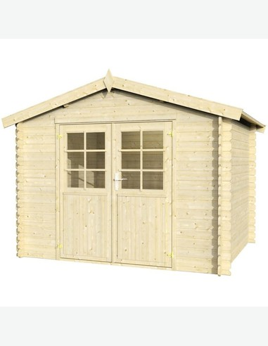 Milton pavimento casette in legno da giardino avantishop - Pavimento in legno per giardino ...