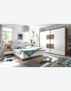 Cesena - Struttura letto con 2 comodini compresi milieu