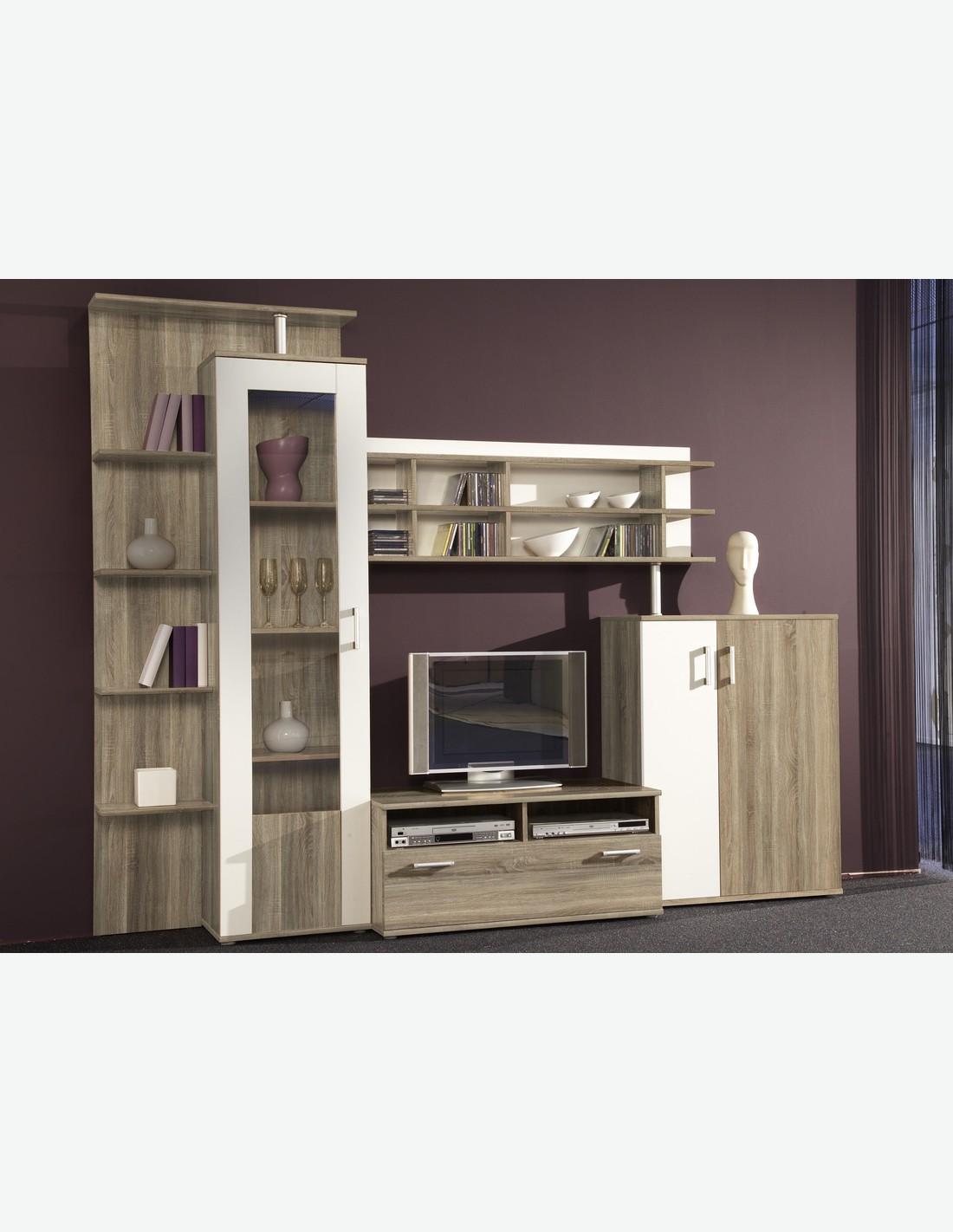 Follow pareti attrezzate e mobili tv avantishop for Parete da soggiorno