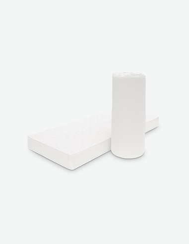 Clever - Rollmatratze in Kaltschaum, Atmunksaktiv, temperaturausgleichend und fechtigkeitsregulierend