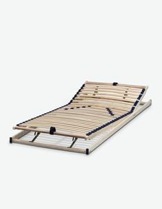 Noviflex - Lattenrost mit 28 mehrfach verleimte Federholzleisten, verstellbar, in 2 verschiedenen Größen verfügbar