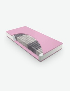 Dreamer - Materasso in poliuretano espanso, altamente traspirante, adattamento ergonomico al corpo