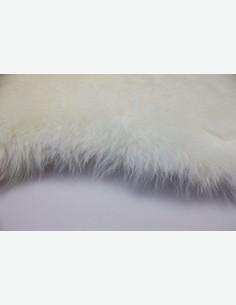 Heide - Pelle d'agnello, bianco naturale - dettaglio