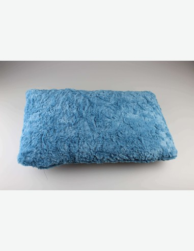 Bini - Kissen, sehr angenehm, 100 % Polyester, in verschiedenen Farben verfügbar - blau