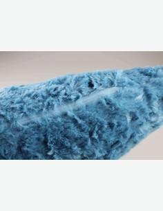 Bini - Kissen, sehr angenehm, 100 % Polyester, in verschiedenen Farben verfügbar - blau - Detail