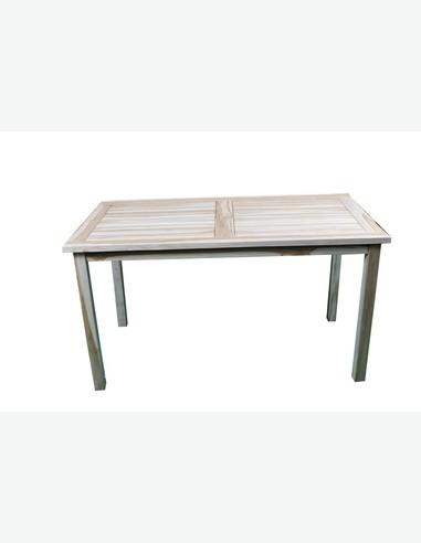 gartentisch aus massivholz. Black Bedroom Furniture Sets. Home Design Ideas