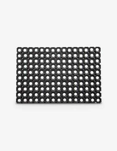 Estell - Fußmatte schwarz in Polypropylen