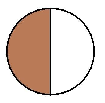 Marrone / bianco